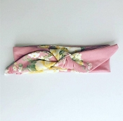 *The Cozy Co. Knot Floral Headband