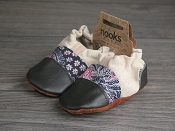 Nooks Design Organic Hemp Canvas Booties - One of a Kind