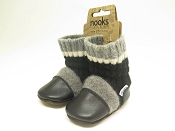 Nooks Design Felted Wool Booties - One of a Kind