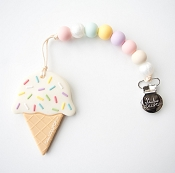 *Loulou Lollipop Ice Cream Teether with Holder
