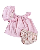 Bailey's Blossoms Rhyan Top, Bloomer & Bonnet Gift Set *CLEARANCE*