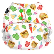 Imagine Baby One Size Pocket Diaper - Dine n' Dash