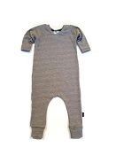 Urban Baby Apparel Urban Romper - Textured Grey in Bamboo