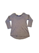 Urban Baby Apparel Edgy Thermal Tee - Heathered Grey *CLEARANCE*