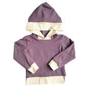 With Love by Ash Mauve Hoodie