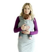 *Beluga Baby Wrap Charcoal Grey Heather - The McKenzie