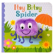 *Itsy Bitsy Spider Finger Puppet Book