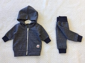 Itty Bitty Baby Softspun Marled Jogger Set