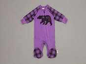 Itty Bitty Baby Footie Wild One - Purple *CLEARANCE*