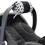 *Itzy Ritzy Wrap Infant Car Seat Handle Cushion - XOXO