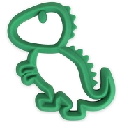 *Itzy Ritzy Chew Crew Silicone Teether - Dino