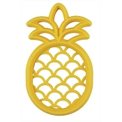 *Itzy Ritzy Chew Crew Silicone Teether - Pineapple