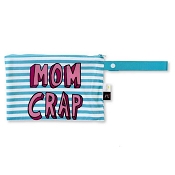 *Itzy Ritzy After Dark Half Size Wet Bag - Mom Crap