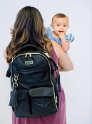 *Itzy Ritzy Boss Diaper Bag Backpack - Jetsetter