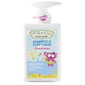 *Jack N Jill Natural Bathtime Shampoo & Body Wash - Sweetness (300mL)