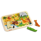 *Janod Chunky Zoo Puzzle