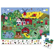 *Janod The Farm Observation Puzzle - 24 Pieces