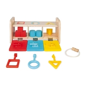 *Janod Shape Sorter with Keys