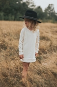 Jax & Lennon Fleece Sweater Dress