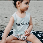 Little & Lively Tank Top - Beachy