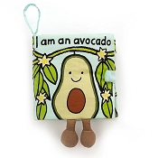 *Jellycat Avocado Fabric Book