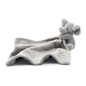 *Jellycat Bashful Grey Elephant Soother