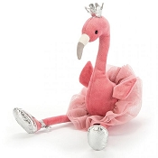 *Jellycat Fancy Flamingo Medium