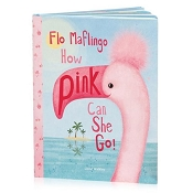 *Jellycat Flo Maflingo How Pink Can I Go Book