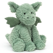 *Jellycat Fuddlewuddle Dragon Medium - 9
