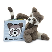 *Jellycat If I Were a Raccoon Book