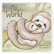 *Jellycat My World Book