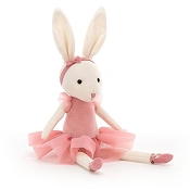*Jellycat Pirouette Bunny Rose - 11