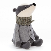 *Jellycat Riverside Rambler Badger - 9