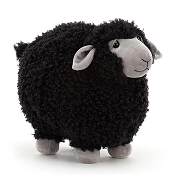 *Jellycat Rolbie Sheep Black - 15