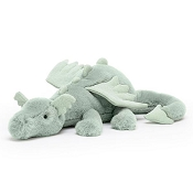 *Jellycat Sage Dragon Little - 10