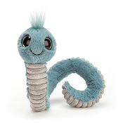 *Jellycat Wiggly Worm - Blue