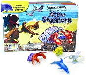 *Innovative Junior Groovies Book + Toys - At the Seashore