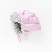Juddlies Winter Hat - Salt & Pepper Pink *CLEARANCE FINAL SALE*