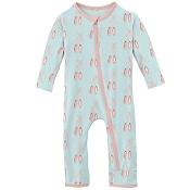 KicKee Pants Fitted Coverall - Fresh Air Ballet
