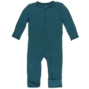 KicKee Pants Fitted Coverall - Oasis