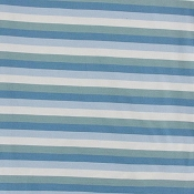 Kickee Pants Print Lightweight Sleeping Bag in Oceanography Stripe