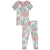 KicKee Pants Short Sleeve Pajama Set - Fresh Air Florist
