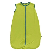 Kickee Pants Lightweight Sleeping Bag - Meadow with Seagrass