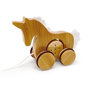 *Kinderfeets Bamboo Push & Pull Unicorn