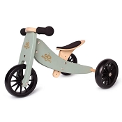 *Kinderfeets 2-in-1 Tiny Tot Balance Bike - Sage