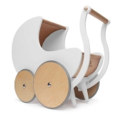 *Kinderfeets Pram & Walker - White
