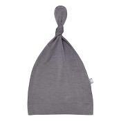Kyte Baby Knotted Cap - Charcoal