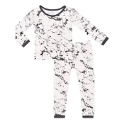 Kyte Baby Toddler Pajama Set - Charcoal Marble