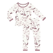 Kyte Baby Toddler Pajama Set - Mulberry Marble