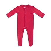 Kyte Baby Footie - Ruby